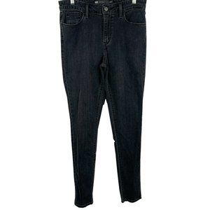 Levis Women's High Rise Skinny Black jeans- 8